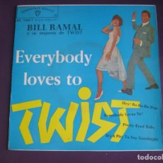 Discos de vinilo: BILL RAMAL EP WARNER 1962 HEY BA BA RE BOP/ EVERYBODY LOVES TO/ PRETTY EYED BABY +1 TWIST ROCK . Lote 117324795