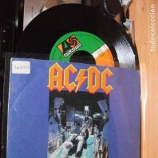 Discos de vinilo: AC/DC WHO MADE WHO SINGLE SPAIN 1986 PDELUXE. Lote 117326775