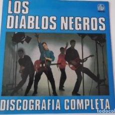 Discos de vinilo: LOS DIABLOS NEGROS - DISCOGRAFIA COMPLETA. Lote 117328319