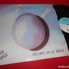 Discos de vinilo: IPSO FACTO ESCLAVO EN LA NOCHE +3 12 MX 1989 HIT MUSIC RARO GRUPO ESPAÑOL PRODUCE MICHEL HUYGEN. Lote 117336183