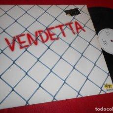 Discos de vinilo: VENDETTA VENDETTA/ VERANO ROJO 12 MX 1988 SALAMANDRA GRUPO ESPAÑOL FUNK DISCO. Lote 117336371