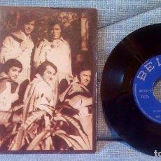 Discos de vinilo: RUDY VENTURA Y SU CONJUNTO - UN MUNDO FELIZ / GITANO ROCK AND ROLL (SINGLE BELTER 1973). Lote 117336975