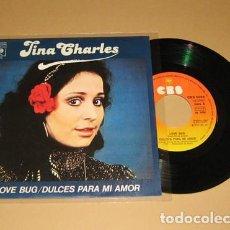 Discos de vinilo: TINA CHARLES - DULCES PARA MI AMOR (LOVE BUG) SINGLE - 1978. Lote 117342275