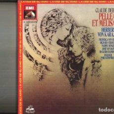 Discos de vinilo: PELLEAS ET MELISANDE. CLAUDE DEBUSSY. Lote 117348479