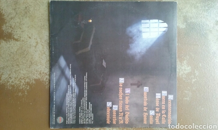Discos de vinilo: Santa - reencarnacion - LP vinilo - heavy metal - buen estado - Foto 2 - 117354227