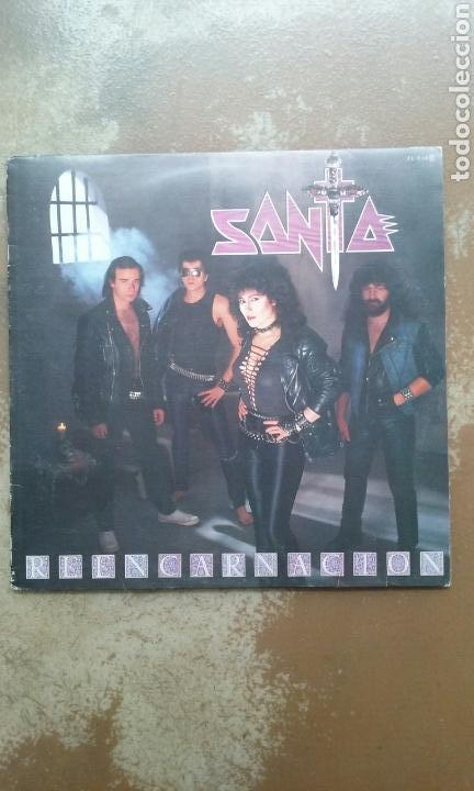 SANTA - REENCARNACION - LP VINILO - HEAVY METAL - BUEN ESTADO (Música - Discos - LP Vinilo - Heavy - Metal)