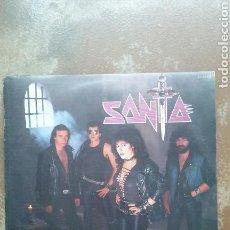 Discos de vinilo: SANTA - REENCARNACION - ÁLBUM ORIGINAL 1984 - LP VINILO - HEAVY METAL - BUEN ESTADO. Lote 117354227