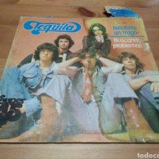 Discos de vinilo: TEQUILA - NECESITO UN TRAGO/BUSCANDO PROBLEMAS -. Lote 117359584