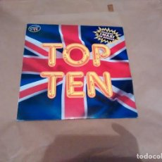 Discos de vinilo: DISCO TOP TEN. Lote 117369007