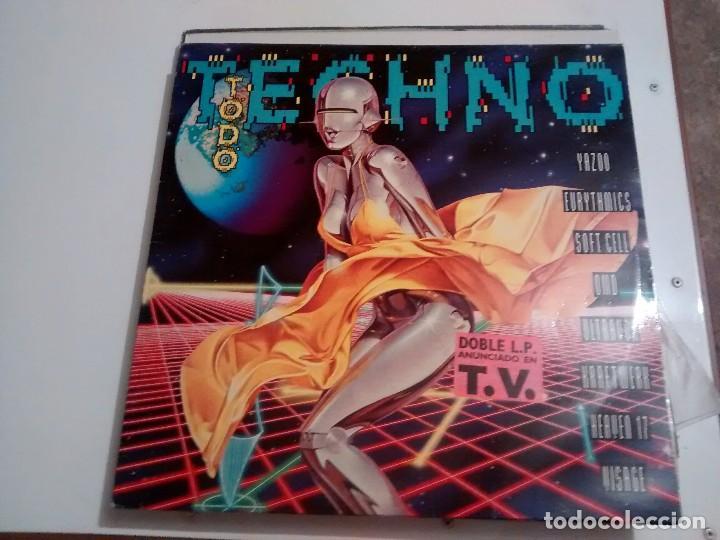 DISCO TODO TECNO (Música - Discos - Singles Vinilo - Techno, Trance y House)
