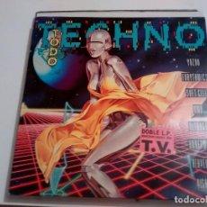 Discos de vinilo: DISCO TODO TECNO. Lote 117369063