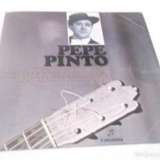 Discos de vinilo: PEPE PINTO EP COLUMBIA 1962 FANDANGOS TOMASEROS/ RECUERDO DE SENTIMIENTO/ A MI NADIE ME DA UN BESO+1. Lote 117372883