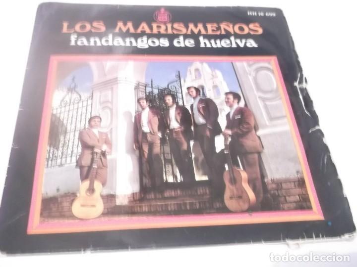 LOS MARISMEÑOS (FANDANGOS DE HUELVA) / YO ME VOY A LA ALAMEDA + 3 (EP 1969 (Música - Discos de Vinilo - EPs - Flamenco, Canción española y Cuplé)