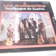 Discos de vinilo: LOS MARISMEÑOS (FANDANGOS DE HUELVA) / YO ME VOY A LA ALAMEDA + 3 (EP 1969. Lote 117373307