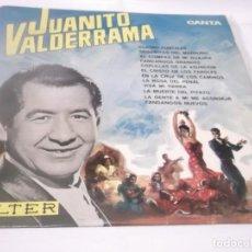 Discos de vinilo: JUANITO VALDERRAMA - CUATRO PUNTALES, LA ROSA DEL PENAL, VIVA MI TIERRA, FANDANGOS NUEVOS .LP. 1966. Lote 117381603