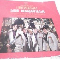 Discos de vinilo: LP - LOS MARAVILLA - PA MARAVILLA SEVILLA - ORIGINAL ESPAÑOL, DISCOPHON 1971. Lote 117383251