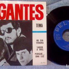Discos de vinilo: LOS GIGANTES - TEMA / MI DIA VENDRA / SABOR A MIEL / PORQUE UNA LUZ - BELTER 1966. Lote 117386691