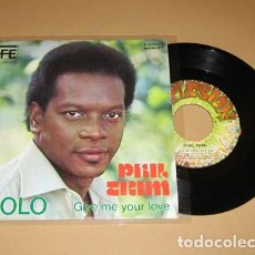 Discos de vinilo: PHIL TRIM - GIVE ME YOUR LOVE / SOLO - SINGLE - 1977. Lote 289020273