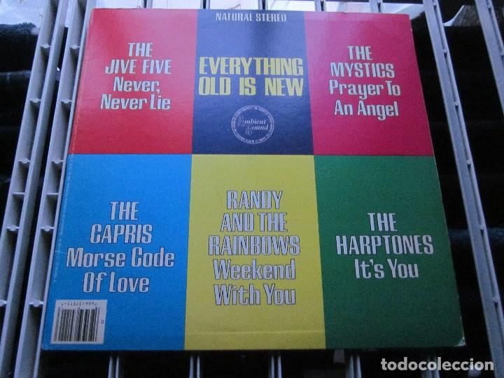 EVERYTHING NEW IS OLD - LP - DOO WOP - MYSTICS,CAPRIS,HARPTONES,JIVE FIVE,RANDY & THE RAINBOWS. (Música - Discos - LP Vinilo - Pop - Rock Extranjero de los 50 y 60)