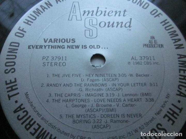 Discos de vinilo: EVERYTHING NEW IS OLD - LP - DOO WOP - MYSTICS,CAPRIS,HARPTONES,JIVE FIVE,RANDY & THE RAINBOWS. - Foto 4 - 117392075