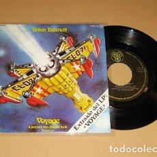 Discos de vinilo: BRIAN BENNETT - VOYAGE / SOLSTICE - RARE SINGLE PROMO SPAIN 1978 ELECTRONIC DISCO FUNK. Lote 151419216