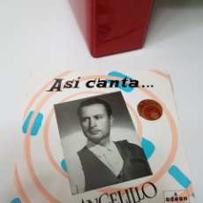 Discos de vinilo: ASI CANTA ANGELILLO - CARACOLES + 3 - EP. Lote 117413060