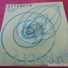 Discos de vinilo: SILVANIA - AVALOVARA - SINGLE VINILO TRANSPARENTE. Lote 117414639