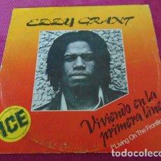 Dischi in vinile: EDDY GRANT - VIVIENDO EN LA PRIMERA LINEA - SINGLE. Lote 117414947