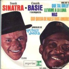 Dischi in vinile: FRANK SINATRA - COUNT BASIE / QUE TAL DOLLY / LLEVAME A LA LUNA + 2 (EP 1964). Lote 117416319