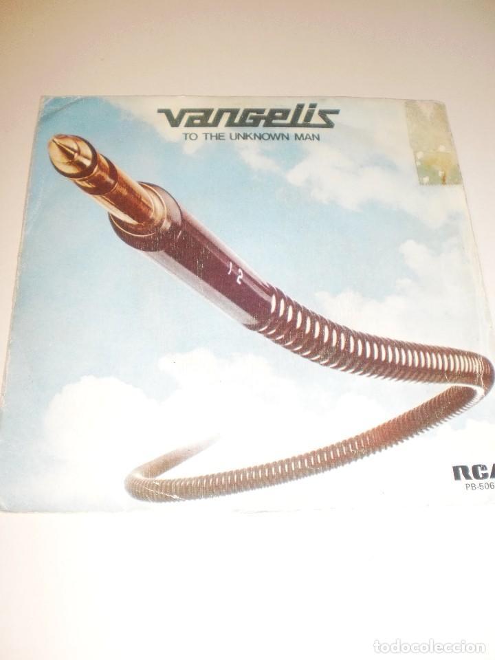 SINGLE VANGELIS. TO THE UNKNOWN MAN. RCA 1978 (PROBADO Y BIEN) (Música - Discos - Singles Vinilo - Pop - Rock - Extranjero de los 70)