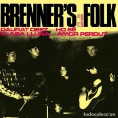 Discos de vinilo: BRENNER'S FOLK -DAURAT OEST (WAH WAH, CM 133 7'', EP, RE, 2018). Lote 207075121