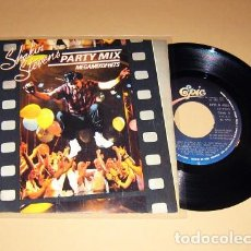 Discos de vinilo: SHAKIN' STEVENS - PARTY MIX - MEGAHITS OF HITS - SINGLE - 1985. Lote 117442223