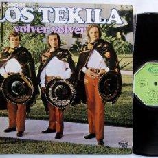Discos de vinilo: LOS TEKILA. VOLVER, VOLVER. LP MOVIE PLAY S26203. ESPAÑA 1973. . Lote 117443111