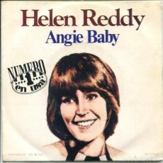 Discos de vinil: HELEN REDDY / ANGIE BABY / I THINK I'LL WRITE A SONG (SINGLE 1974). Lote 117452763