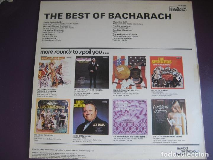 Discos de vinilo: THE BEST OF BURT BACHARACH LP - DUSTY SPRINGFIELD - WALKER BROTHERS - DEE DEE WARWICK etc LOUNGE POP - Foto 2 - 117454167