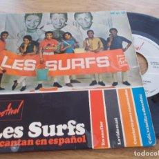 Discos de vinilo: LES SURFS. EN UNA FLOR, LA VIDA ES ASÍ, CONCIERTO PARA ENAMORADOS. CAFE VAINILLA O CHOCOLATE.. Lote 117456187