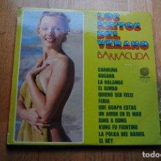 Discos de vinilo: LOS EXITOS DEL VERANO. BARRACUDA. LP IMPACTO 1975. SEXY COVER NUDE. Lote 117459207
