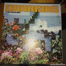 Discos de vinilo: CANARIAS Y SU FOLKLORE. 2 LP. Lote 117462295