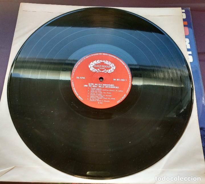 Discos de vinilo: Modernaires – Glen Miller's Modernaires Sings Great Miller Instrumentals - Foto 3 - 117466155