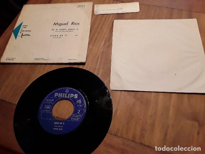 Discos de vinilo: Miguel ríos, tu si tienes Ángel, con cupón regalo. - Foto 2 - 117467255