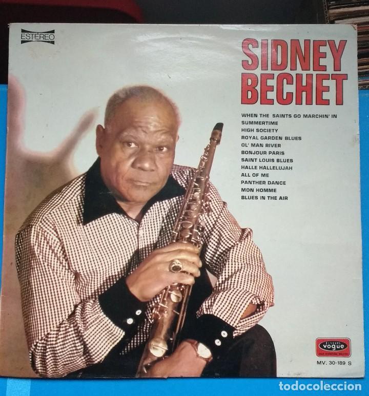 SIDNEY BECHET. WHEN THE SAINT GO..SUMMERTIME, ROYAL GARDEN..VOGUE (Música - Discos - LP Vinilo - Jazz, Jazz-Rock, Blues y R&B)