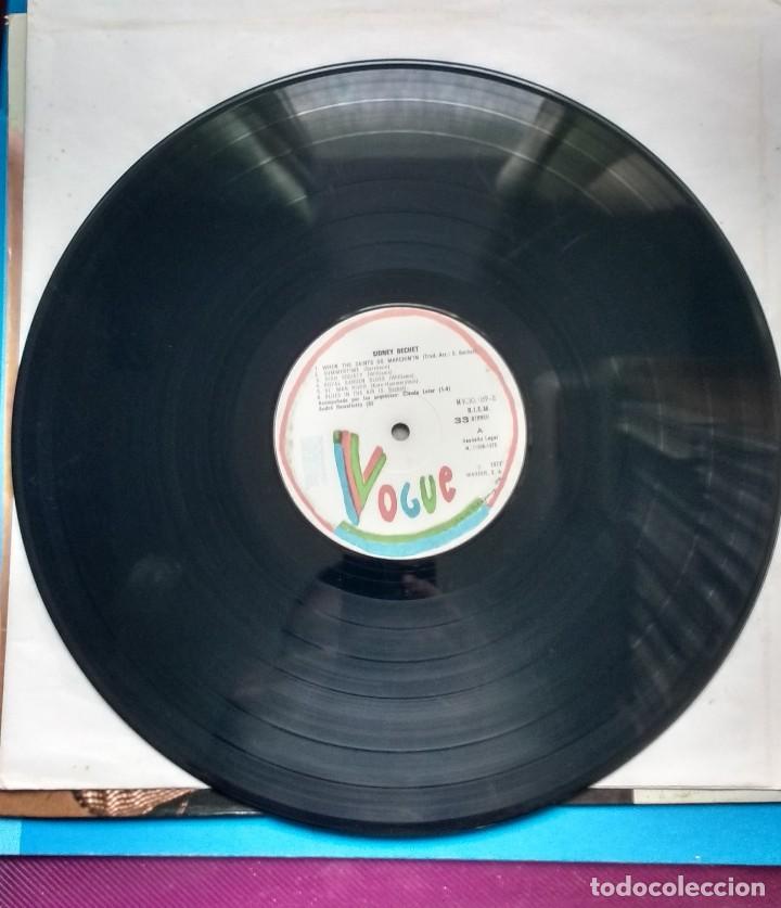 Discos de vinilo: Sidney Bechet. When the Saint go..Summertime, Royal Garden..Vogue - Foto 2 - 117471739