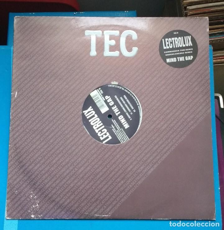 LECTROLUX – MIND THE GAP (Música - Discos de Vinilo - Maxi Singles - Techno, Trance y House)