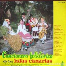 Discos de vinilo: LP VARIOS ?– CANCIONERO FOLKLÓRICO DE LAS ISLAS CANARIAS (ESPAÑA, 1961). Lote 117486543