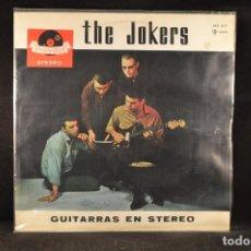 Discos de vinilo: THE JOCKERS - GUITARRAS EN ESTEREO - LP. Lote 117520887