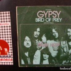 Discos de vinilo: URIAH HEEP- GYPSY. Lote 117534903