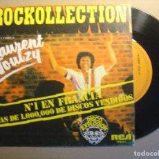 Discos de vinilo: LAURENT VOULZY - ROCKOLLECTION - SINGLE ESPAÑOL 1977 - RCA. Lote 117540167