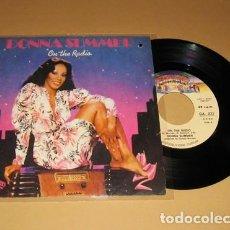 Discos de vinilo: DONNA SUMMER - ON THE RADIO - SINGLE - 1979 - IMPORT. Lote 117541547