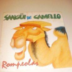 Discos de vinilo: SINGLE ROMPEOLAS. SANGÜI DE CAMELLO. SALSA DE VERANO. FONOMUSIC 1991 SPAIN (DISCO PROBADO Y BIEN). Lote 117545507