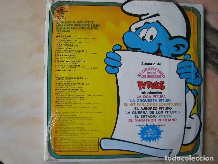 Discos de vinilo: DISCO L.P. DE VINILO EL GRAN JUEGO DE LOS PITUFOS - Foto 2 - 117548283